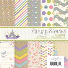 "BLOCO 6""X6"" - SIMPLE STORIES - ENCHANTED"