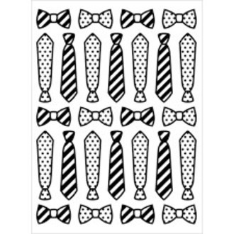 EMBOSSING FOLDER DARICE - TIES AND BOW TIES
