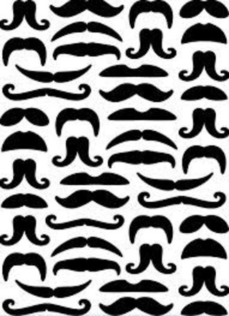 EMBOSSING FOLDER DARICE - MOUSTACHES