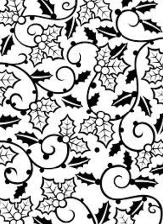 EMBOSSING FOLDER DARICE - HOLLY VINES