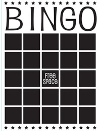 EMBOSSING FOLDER DARICE - BINGO