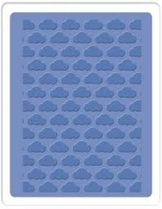 EMBOSSING FOLDER SIZZIX - CLOUDS