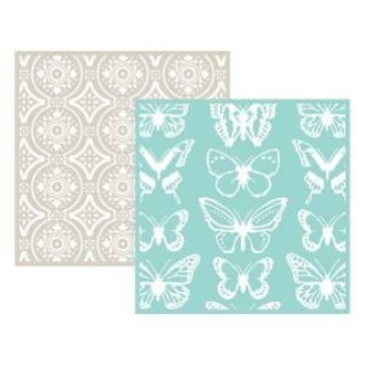 EMBOSSING FOLDER WE MEMORY - BUTTERFLY