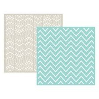 EMBOSSING FOLDER WE MEMORY - CHEVRON