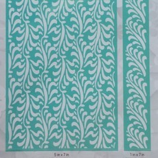 EMBOSSING FOLDER CUTTLEBUG - FEATHER ILLUSION