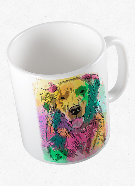 Caneca Golden Retriever
