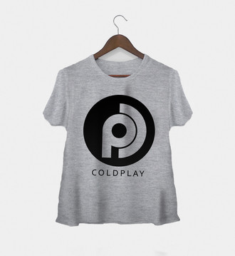 Camiseta Feminina Coldplay