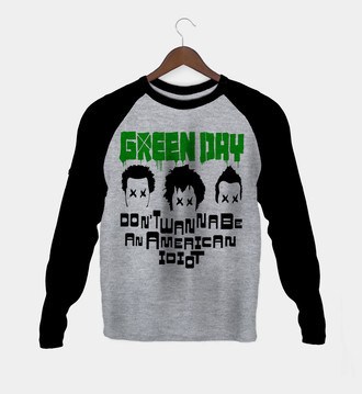 Manga Longa Green Day Feminina