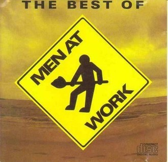 Men at Work - The best of Men at Work LP (excelente estado)