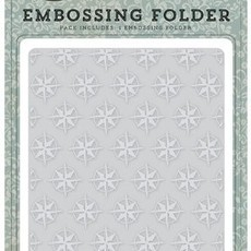 EMBOSSING FOLDER CARTA BELLA - COMPASS