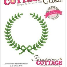 FACA COTTAGE CUTZ - LAUREL WREATH