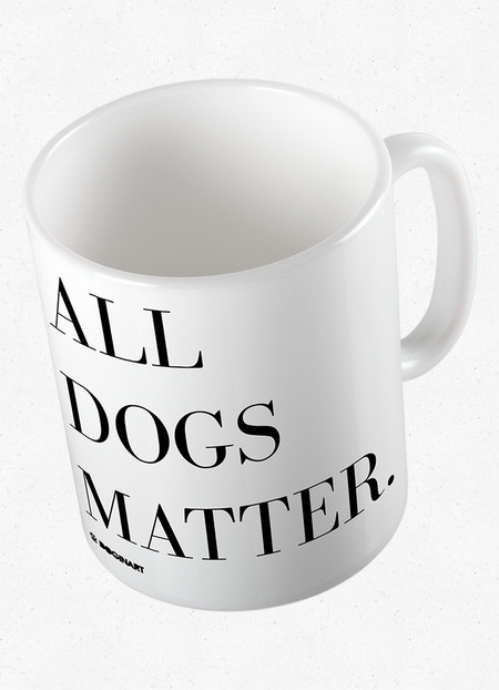 Caneca All Dogs Matter