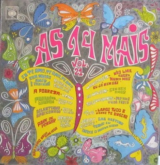 VA - As 14 mais - volume 21 LP MONO