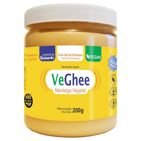 Manteiga Vegana Veghee com Sal do Himalaia (200g) - Natural Science
