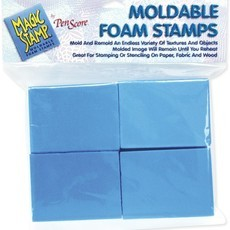 MAGIC STAMP - MOLDABLE FOAM STAMPS