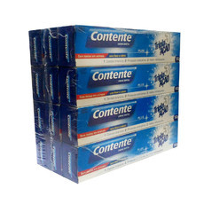 Kit 12 un. Creme Dental Contente Plus Tripla Ação - pague 11,leve 12