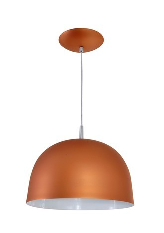 PENDENTE COLOR DOME COBRE - 3103 CB