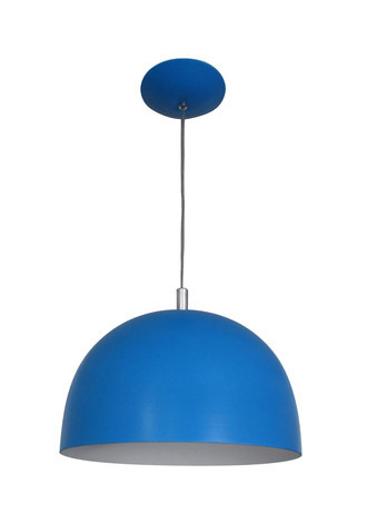 PENDENTE COLOR DOME AZUL - 3103 AZ