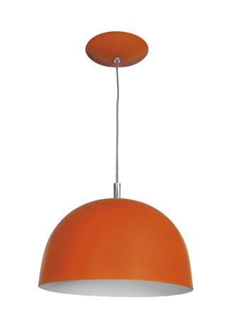 PENDENTE COLOR DOME LARANJA - 3103 LR