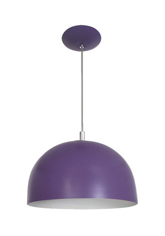 PENDENTE COLOR DOME ROXO - 3103 RX