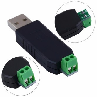 Mini Adaptador Serial Conversor De Usb 2.0 P/ Rs-485 2 Pinos