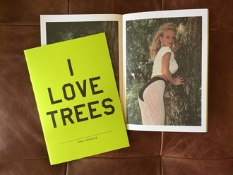 I LOVE TREES, by Erik Kessels