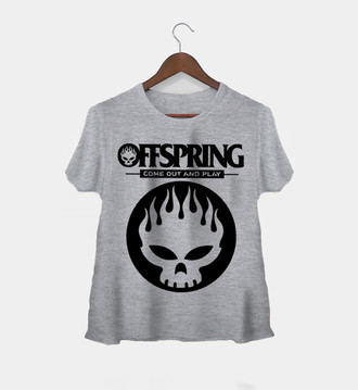 Camiseta Rock Feminina Offspring