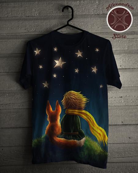 e35f2a9b26c Camiseta O Pequeno Príncipe