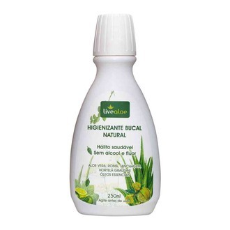 Higienizante Bucal Natural – Livealoe - 250ml