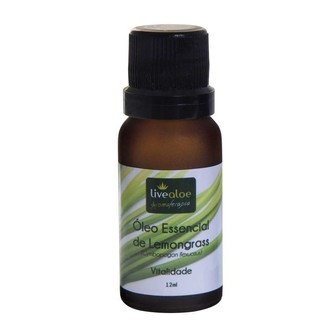 Óleo Essencial de Lemongrass – Livealoe – 12ml