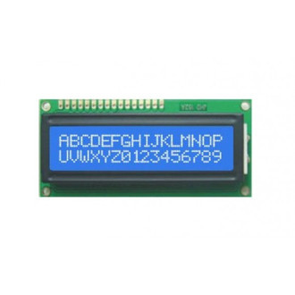 Display LCD 16x2 backlight Azul (L6)