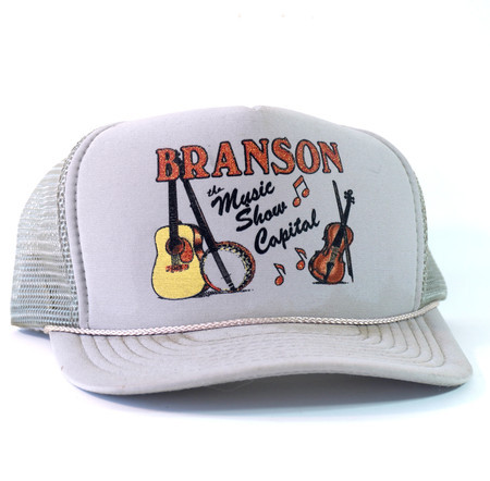 Boné Trucker 'Branson: The Music Show Capital'