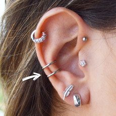 ​​Piercing Pressão Helix/Conch Basic