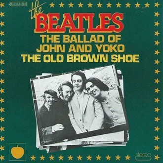 The Beatles - The ballad of John and Yoko/The old brown shoe cp 45RPM