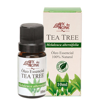 Óleo Essencial de Tea Tree/Melaleuca - Arte dos Aromas - 10ml