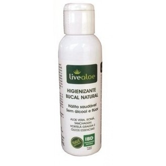Higienizante Bucal Natural – Livealoe - 60ml