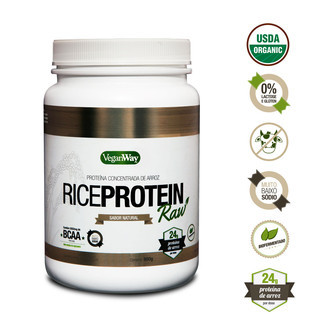 Rice Protein Raw - sabor Natural (900g) - VeganWay