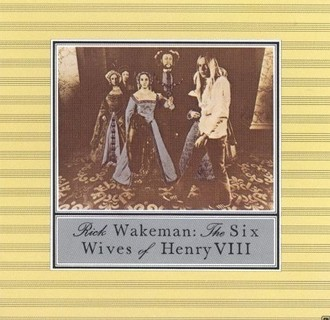 Rick Wakeman - The Six wives of Henry  VIII LP quadrafônico