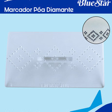 Marcador Blue Star de Poá Diamante