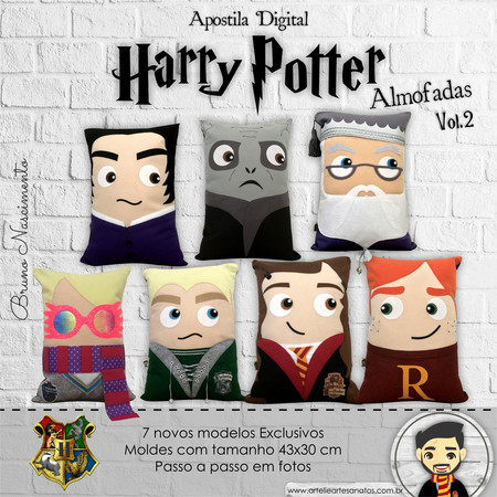 Apostila Digital Harry Potter Almofadas VOL.2