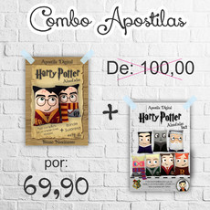 COMBO APOSTILAS Harry Potter VOL.1 e VOL.2
