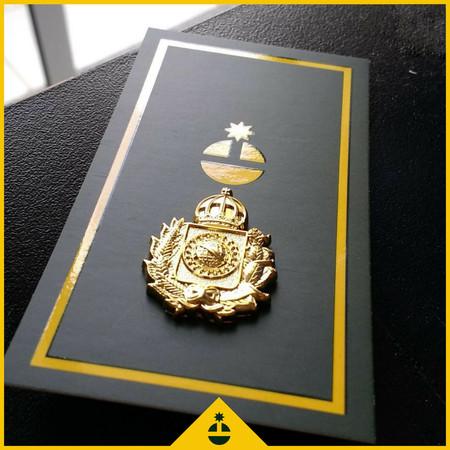 c08693c870 Pin Imperial Dourado 3D - Von Regium