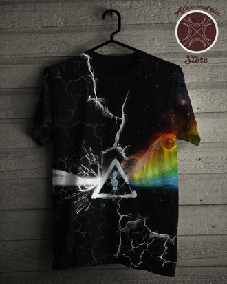 Camiseta Pink Floyd Eletric Side