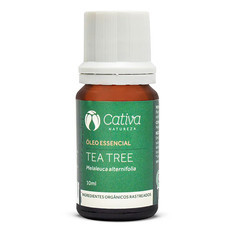 Óleo Essencial de Tea Tree - Cativa Natureza - 10ml