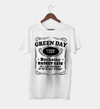 Camiseta Masculina Green Day