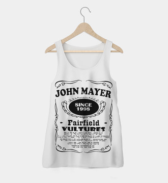 Regata Rock Feminina John Mayer