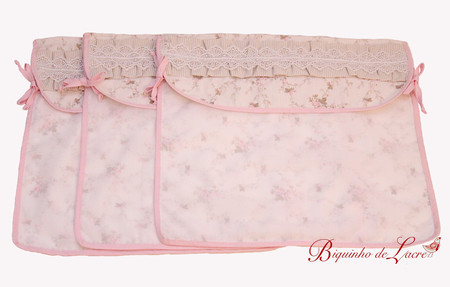 Kit Envelope Maternidade Shabby Chic