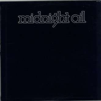Midnight Oil S/T 1978 LP (primeiro álbum)
