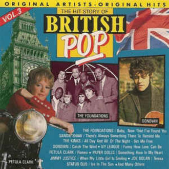 The Hit Story of British Pop vol. 4 LP (c/ The Kinks, Donovan e mais)