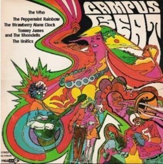 Campus Beat LP (imp. USA) - c/ The Who, Strawberry Alarm Clock e mais